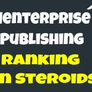 Menterprise Publishing Link Building - SEO On Steroids - Mass page Creator