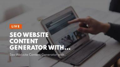 Seo Website Content Generator with Keywords - Get Menterprise!